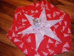 Weihnachtsdecke, Sternendecke, Deckchen , Stern, Weihnachten (Kopie id: 100125875)