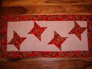 Weihnachtsdecke, Sternendecke, Deckchen , Stern, Weihnachten, Läufer