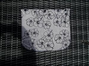 Wechselklappe  für Handtasche mit Wechselklappe