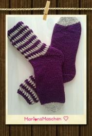Socken * handgestrickt mit viel ❤ * gegen kalte Füße
