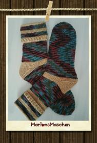 Socken - handgestrickt mit ❤ für jung und alt