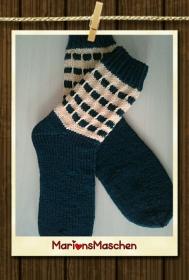 Tolle Socken - handgestrickt mit ❤ für jung und alt