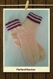 Socken - handgestrickt mit ❤ - für jung und alt