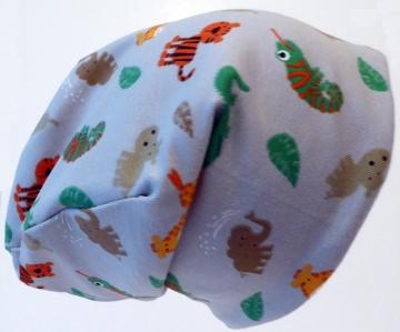 SALE - Baby-Mütze - Beanie - Zootiere (Elefant, Giraffe, Tiger und Co.) - KU 40-45