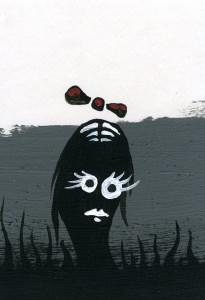 'Lustige' Schwarz/weiß Zeichnungen