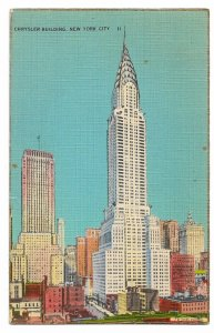 Alte Foto Postkarte  ★NEW YORK CITY - CHRYSLER BUILDING ★ Wolkenkratzer  1939