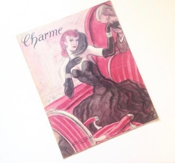 ★ CHARME - ZEITSCHRIFT FÜR DIE FRAU ★  Vintage Modezeitschrift Modemagazin Frauenzeitschrift    Heft 19, Jahrgang 1948