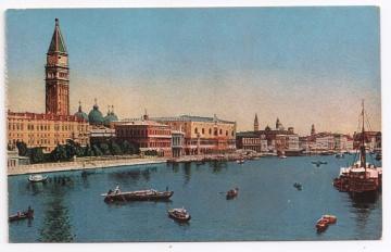 Alte Foto Postkarte  ★VENEDIG  - LAGUNE MIT GONDELN ★ um1910