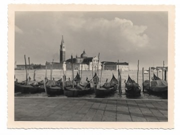Altes Foto ★ VENEDIG  - GONDELN ★ 1931