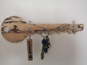 Schlüsselbrett aus Treibholz, handgemacht by Holzdeko-Isny