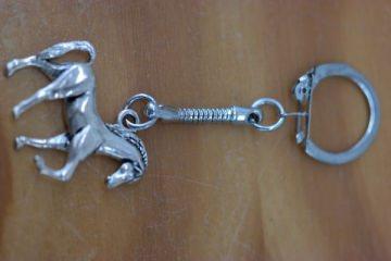 Schlüsselanhänger mit Pferd
