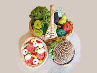 Kaufladen Puppenküche ☆ Häkelanleitung ☆ auch für Anfänger