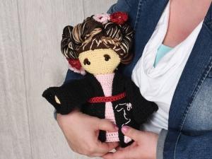 Puppe Geisha Riku Chibiwelt ☆ Häkelanleitungen ☆ Komplettset