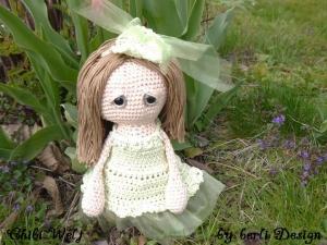 Puppe Klara Chibiwelt ☆ Häkelanleitungen ☆ Komplettset