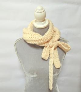 Vintage Liebe Schluppenschal, Schleifenschal, der Schal mit der Schleife