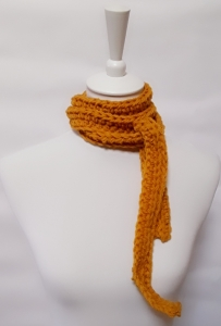 Schal, Minischal gelb