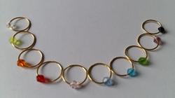 Maschenmarkierer Ringe 10 Stück10