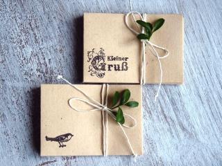 Miniumschlag, kleiner Umschlag, kleines Kuvert, Minikuvert, Umschläge, klein, Vintage, Shabby, 12 Stück