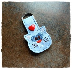 Schlüsselanhänger ♥ Katze ♥ Taschenbaumler