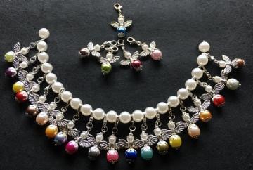 10 x Perlenengel bunt Glücksbringer Schutzengel Gastgeschenk Hochzeit Taufe Kommunion Konfirmation
