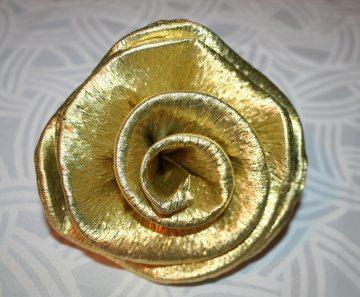 30 x große XXL Krepprosen gold Silberhochzeit Jubiläum Deko Hochzeit Blumen