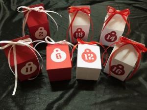 Adventskalender ★ 24 Schachteln ★ DIY zum basteln und selber befüllen