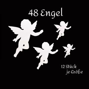 Engel - Stanzteile - Scrapbooking - basteln - Tischkarte