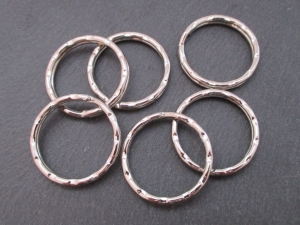 6 Stück Schlüsselringe Durchmesser 25mm - Handarbeit kaufen