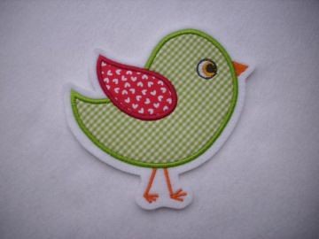 Süsses Vögelchen ☆☆  Applikation ☆☆ Aufnäher☆☆  - Handarbeit kaufen