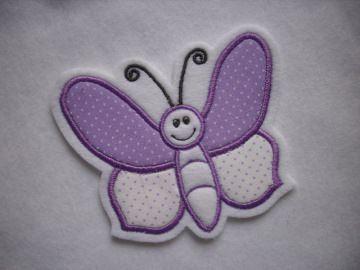 Süsser Schmetterling ♥ Applikation ♥ Aufnäher  - Handarbeit kaufen