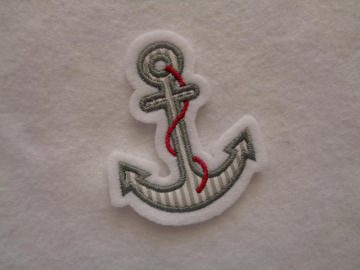 ♥ Mini-Anker ♥ Applikation ♥ Aufnäher ♥ maritim ♥ grau(Kopie id: 100013095) (Kopie id: 100045540)