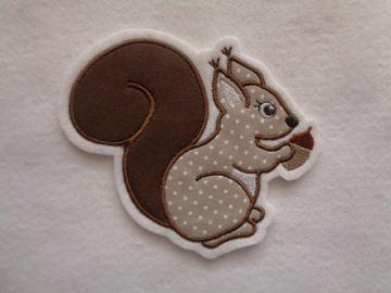 Eichhörnchen ☆ Aufnäher ☆ Applikation