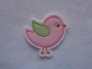 Süsses Vögelchen ☆☆  Applikation ☆☆ Aufnäher☆☆