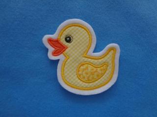 Süsse Ente / Entchen  klein ♥ Applikation ♥ Aufnäher (Kopie id: 100079641) (Kopie id: 100079642) - Handarbeit kaufen