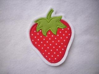 niedliche Erdbeere ☆ Applikation  ☆ Aufnäher  (Kopie id: 100096764) - Handarbeit kaufen