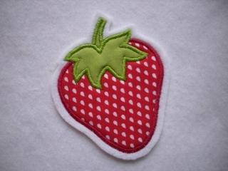 niedliche Erdbeere ☆ Applikation  ☆ Aufnäher  (Kopie id: 100096764) (Kopie id: 100121764) - Handarbeit kaufen
