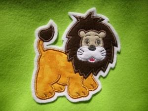 niedlicher Löwe ♥ Applikation ♥ Aufnäher ♥  - Handarbeit kaufen