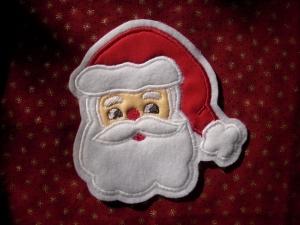 süsser Nikolaus / Weihnachtsmann ♥ Aufnäher ♥ Applikation (Kopie id: 100133189)