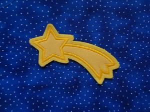 Stern  ♥ Sternchen ♥ Stern mit Schweif ♥  Applikation ♥   - Handarbeit kaufen