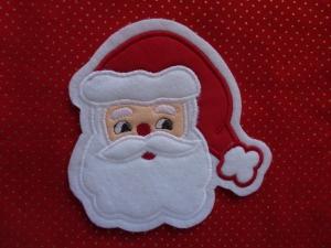süsser Nikolaus / Weihnachtsmann ♥ Aufnäher ♥ Applikation (Kopie id: 100133189) (Kopie id: 100145038) - Handarbeit kaufen