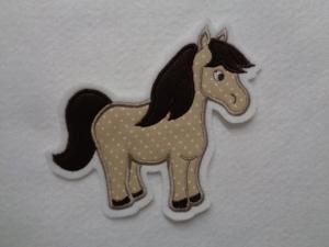 Pony ♡ Pferd ♡  Applikation ♡  Aufnäher