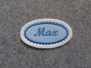 Einzelstück /Applikation / Aufnäher Max - Handarbeit kaufen