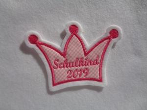 Krone Schulkind ♥ Aufnäher ♥ Applikation ♥  - Handarbeit kaufen