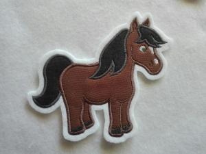 Pony ♡ Pferd ♡  Applikation ♡  Aufnäher  - Handarbeit kaufen