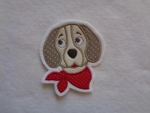 Hund ☆ Welpe ☆Applikation ☆ Aufnäher  - Handarbeit kaufen