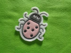 Süsser Käfer ☆ Applikation ☆ Aufnäher oder zum Aufbügeln - Handarbeit kaufen