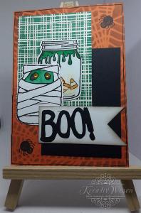 Grußkarte ★Halloween ★ Boo!