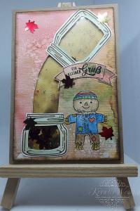 Grußkarte ☀ Herbstgrüße ☀ Schüttelkarte ☀ interaktive Grußkarte