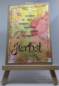 Grußkarte ☀ Herbstgrüße ☀ Neutrale Grußkarte