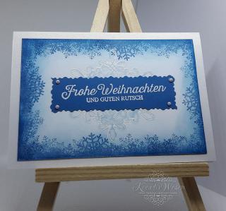 Grußkarte ☆ Frohe Weihnachten und guten Rutsch